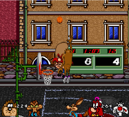 looney tunes basketball game