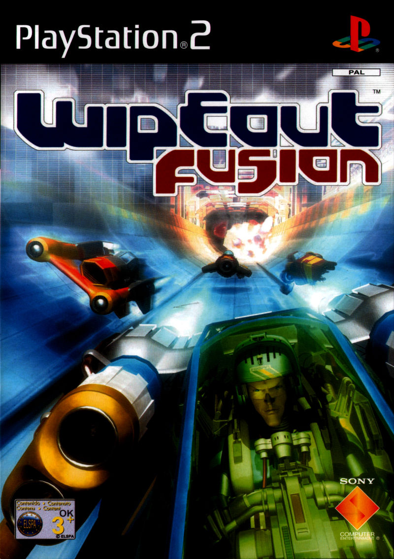 wipeout fusion ovp rennspiele ps2 playstation 2. Black Bedroom Furniture Sets. Home Design Ideas