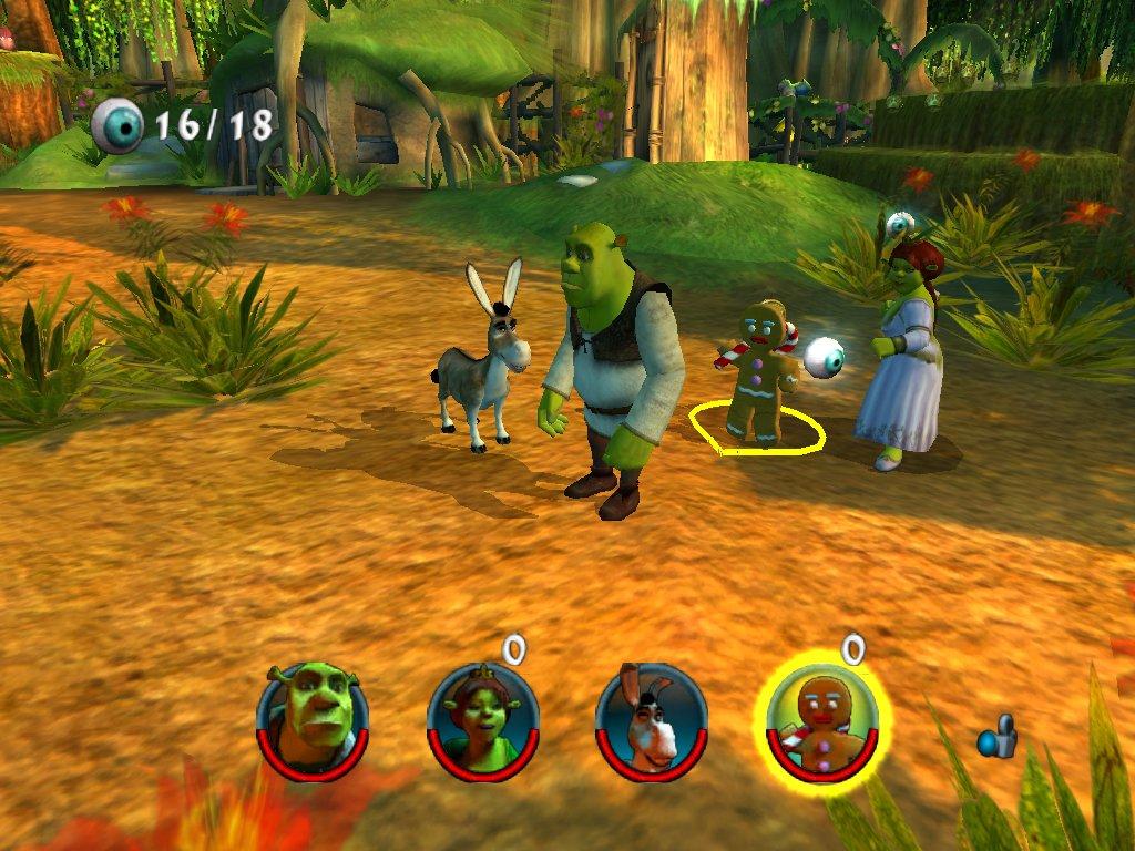 Shrek 2 OVP   Action   GameCube   Nintendo