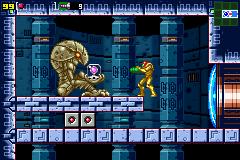 Metroid Zero Mission Shooter Game Boy Advance Nintendo
